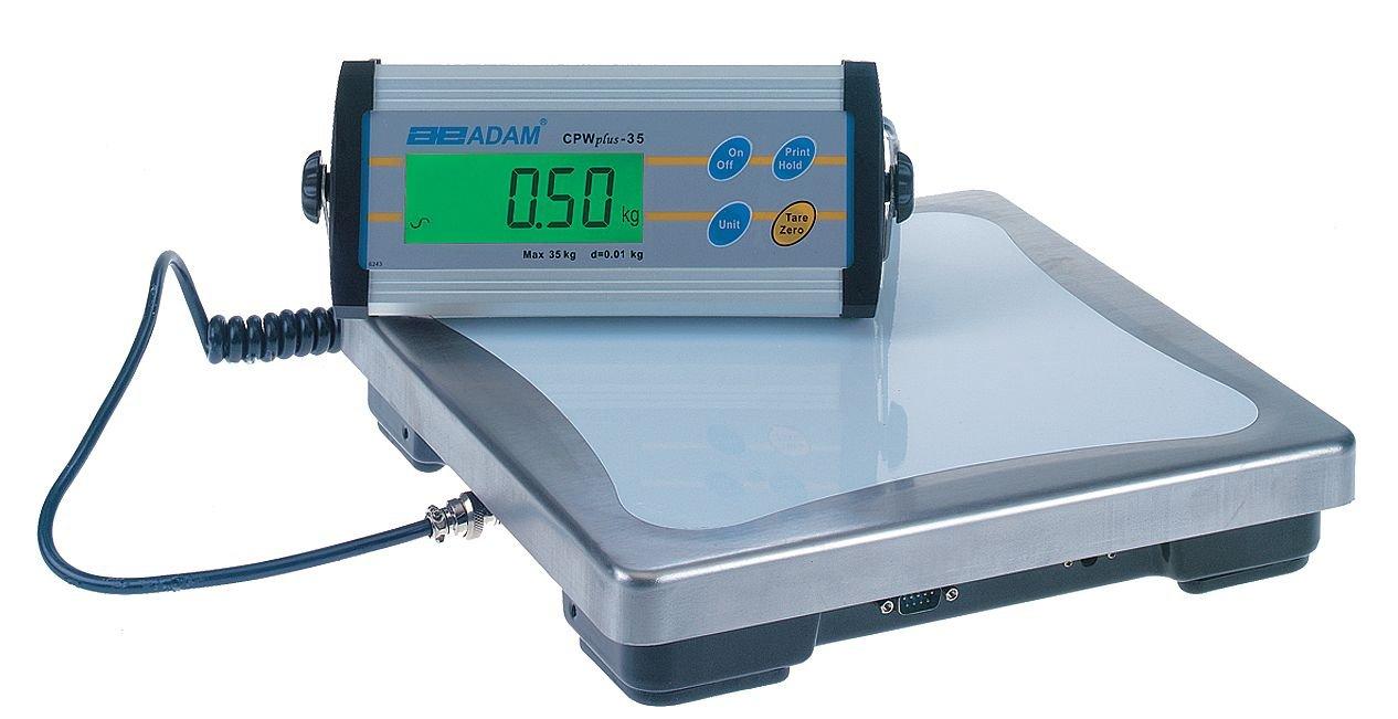 Image of Adam Equipment, CPWPLUS 6, Bench Scale, Digital, 6kg/13 lb.