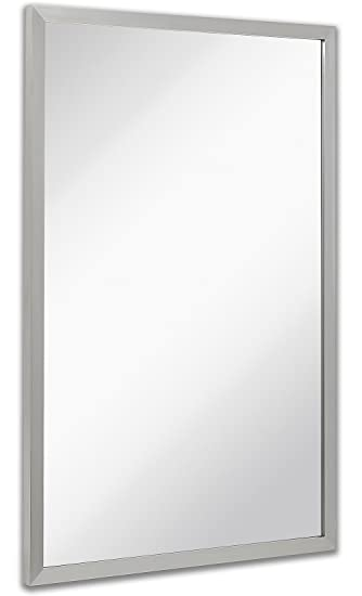 Commercial Restroom Rectangular Wall Mirror