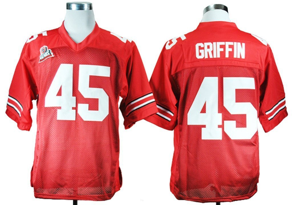 45 Nike Jersey durable service Generic Mens Archie Griffin 45 Ohio State  Buckeyes College Football Jersey ... d6a8a0de9