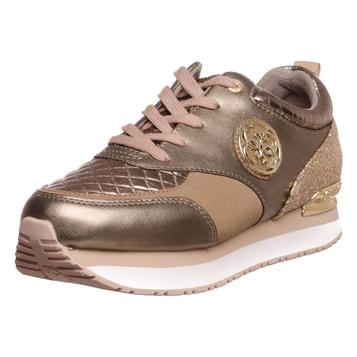Guess golden leather sneaker RIMMA (35 - Gold) K4HSmfk