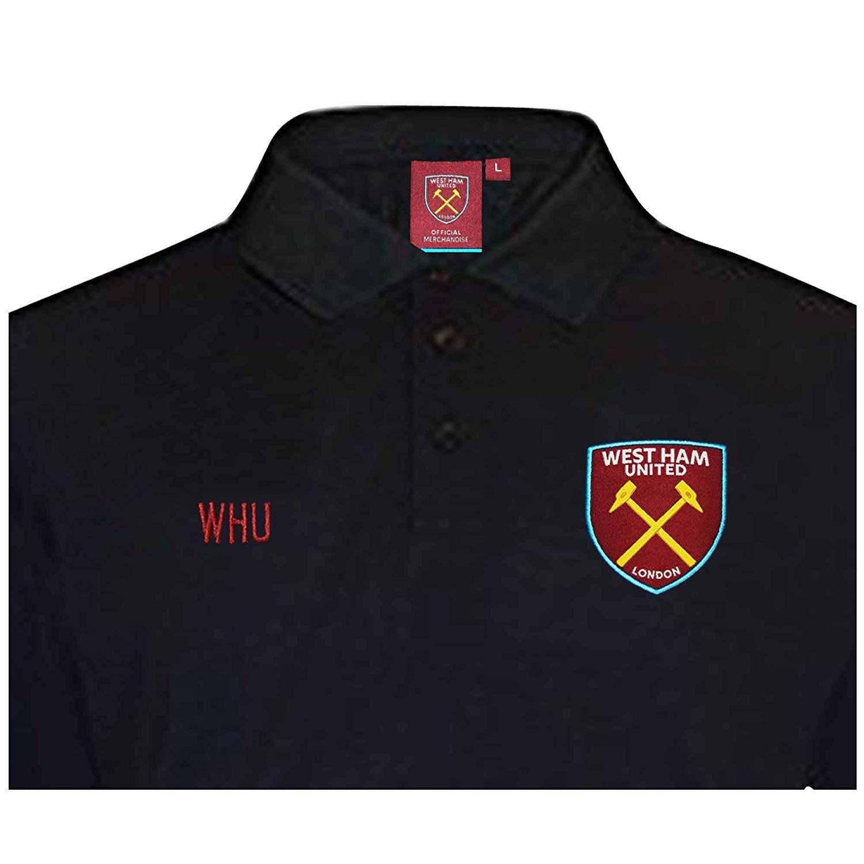 West Ham United Camiseta Oficial Escudo de fútbol (Adultos y niños ...