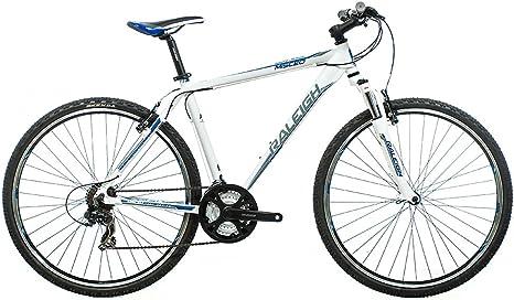Raleigh Misceo 1.0 - Bicicleta de montaña Enduro, Color Blanco ...