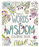 Eccolo World Traveler Tamara Kate Adult Coloring Book, Words of Wisdom (CB501)
