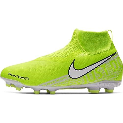new style lace up in sale usa online Nike Unisex-Kinder Jr. Phantom Vision Academy Dynamic Fit Mg Fußballschuhe,  Schwarz (Black/Volt)