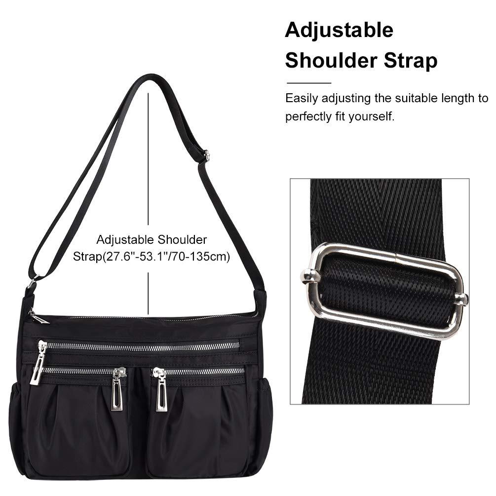 Amazon.com: Bolsas de hombro Vbiger, impermeables, para ...