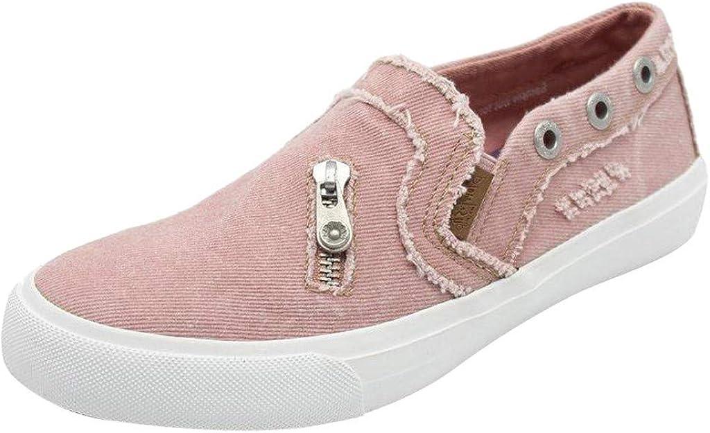 Billige Bequeme Sportschuhe für DamenDorical Frauen Canvas Sneaker, Low Übergrößen Flandell Top Basic Turnschuh Textil SchuheSchwarz, Blau, Beige,