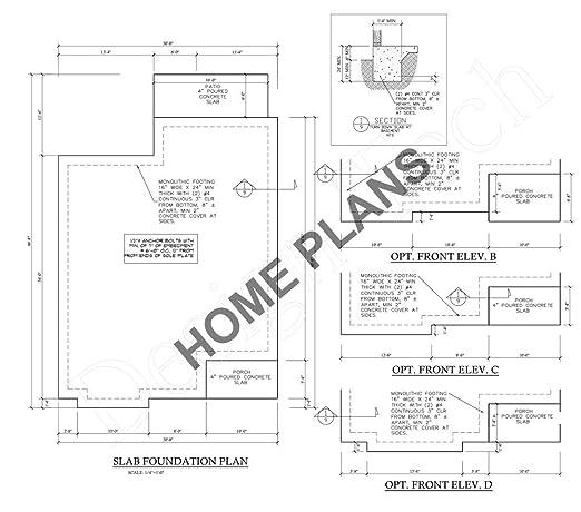 Amazon Com Sq Ft Htd Unht Plan K 1160 Homehouse