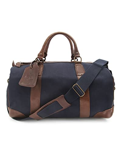 c91e36237ef5 POLO Ralph Lauren - Overnight Bags - Men - Canvas and Leather Navy Blue  Weekend Bag