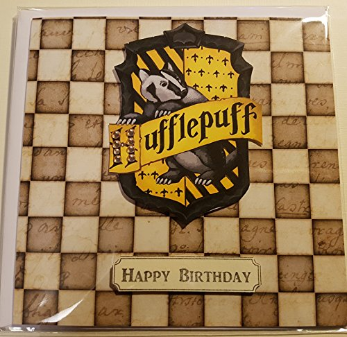 Handmade Harry Potter Inspired Birthday Card