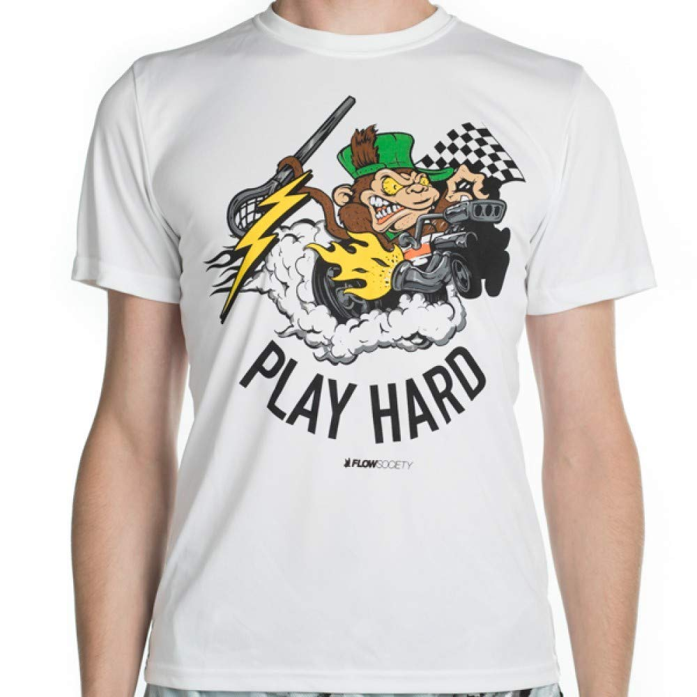 Flow Society Boys Grease Monkey Tee Shirt