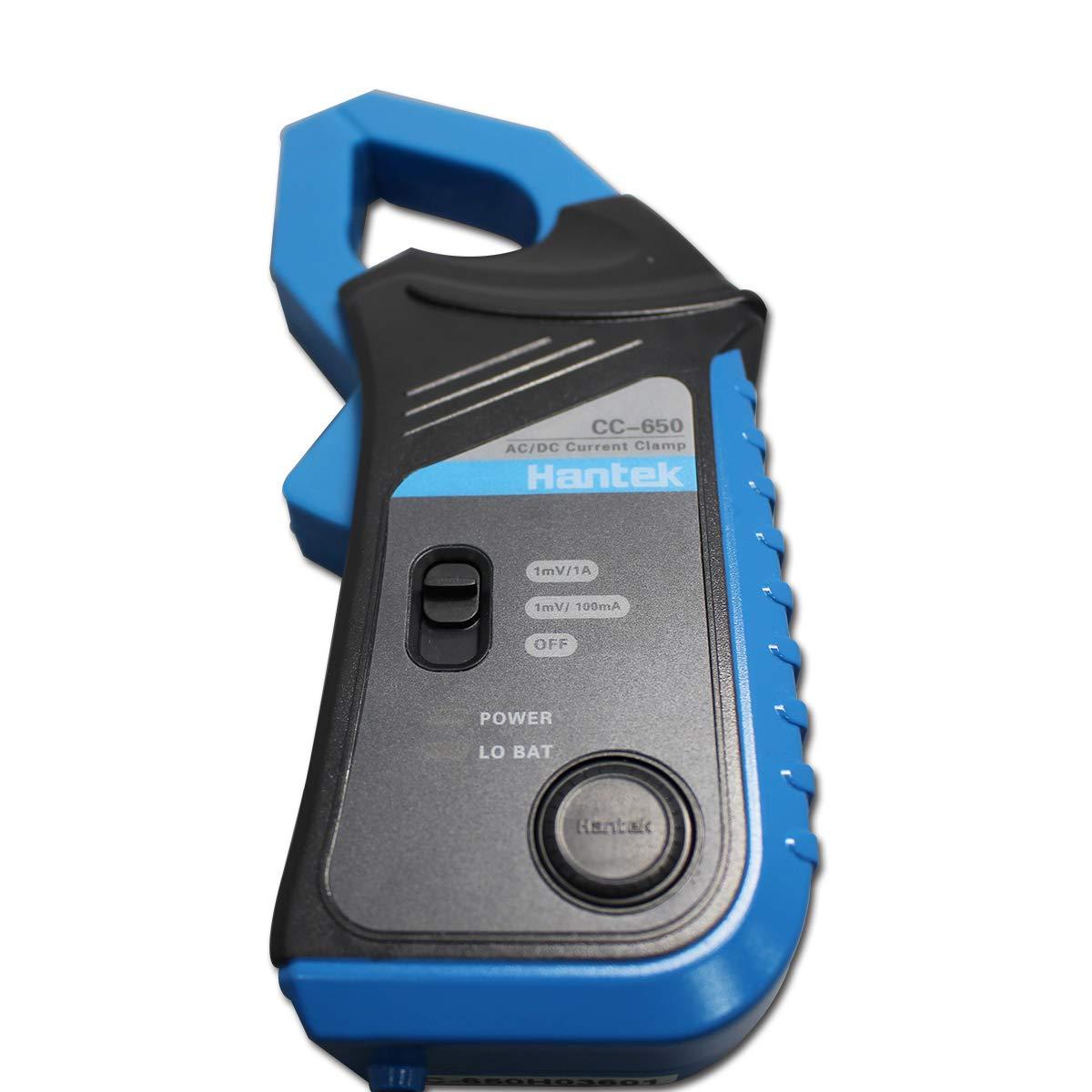 Hantek 650A AC//DC Current Clamp for Hantek/&Other Makes Auto Oscilloscopes and DMMs,CC 650 BNC Plug