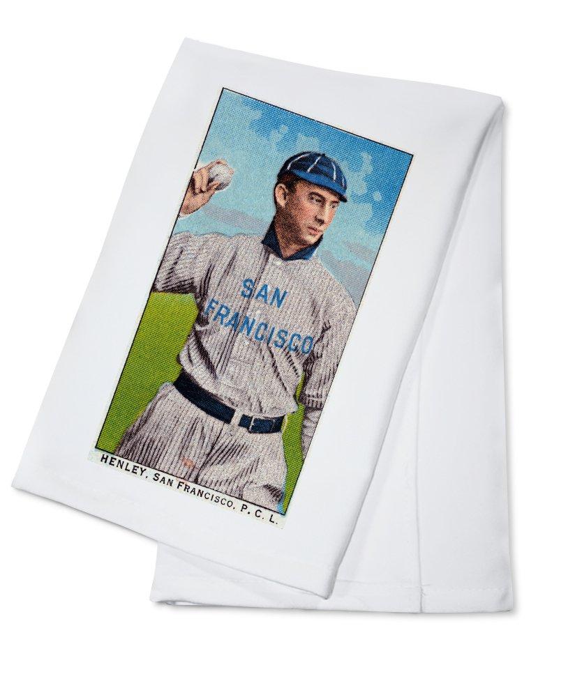San Francisco Pacific Coast League – Henley – 野球カード Cotton Towel LANT-23564-TL Cotton Towel  B0184B91CE