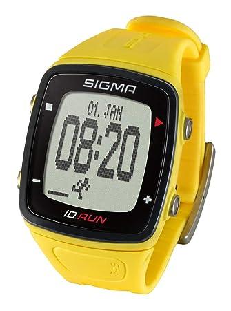 e33f6eb7691f Sigma Sport ID Sigma Reloj Deportivo GPS ID.Run Amarillo 24810 ...