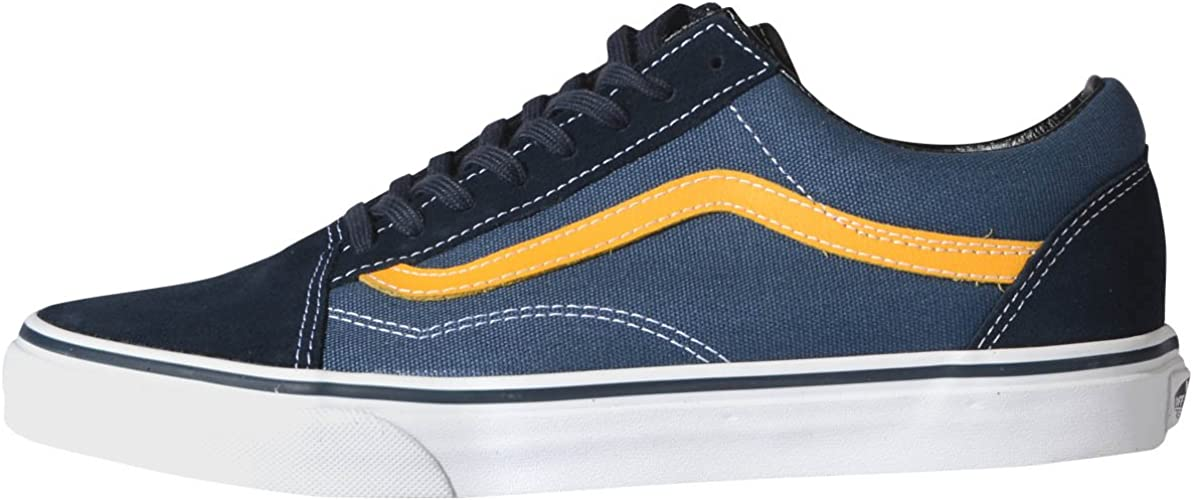 Vans ComfyCush Old Skool Chaussures (Classic) Navy: Amazon