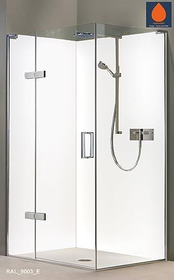 original plateart eck duschrckwand 2 platten 90 x 210 cm wandverkleidung wandbild - Aluminium Ruckwand Dusche 2
