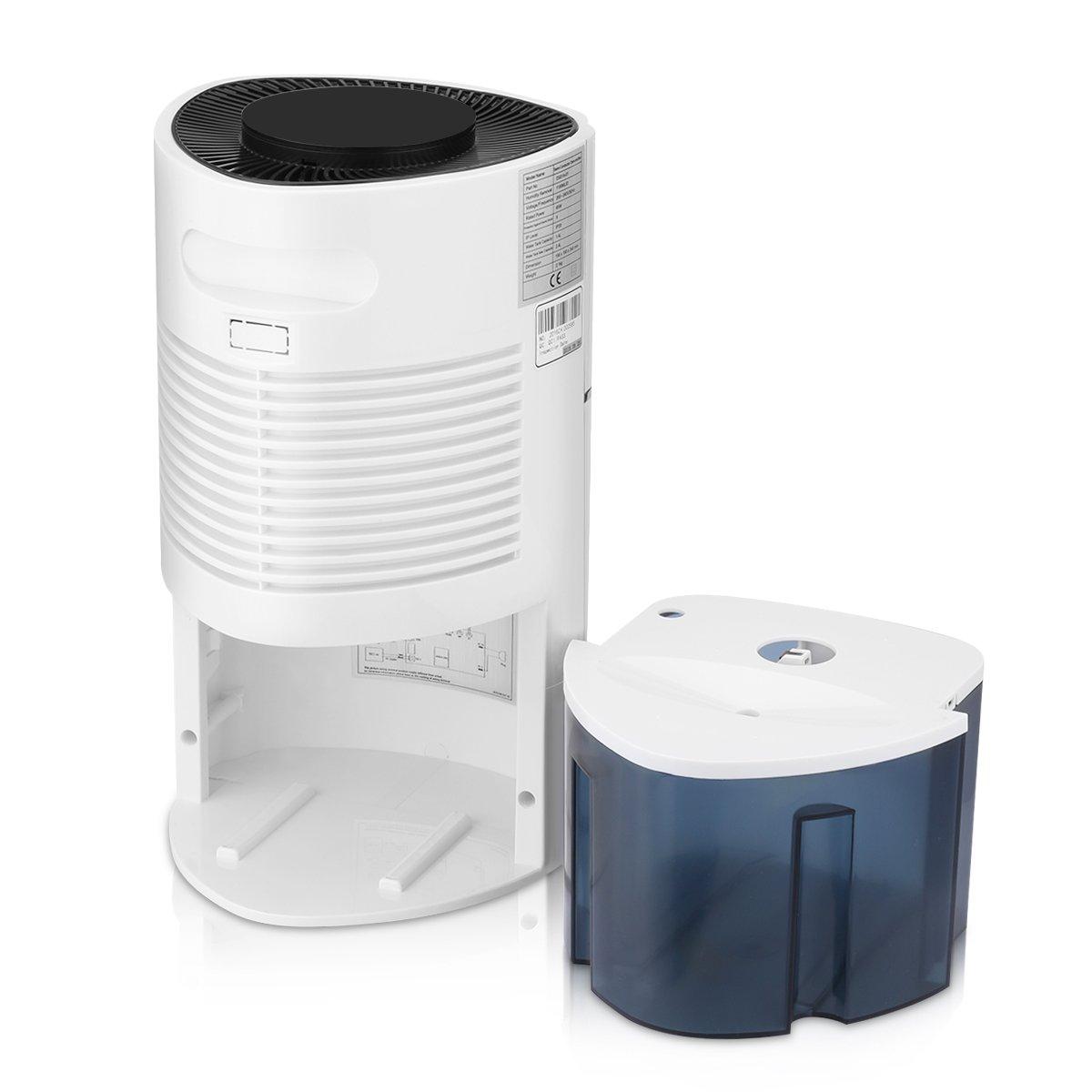 Bathroom dehumidifier uk - Finether 1 1l D Digital Air Dehumidifier Anion Uv Air Purify Portable Lightweight Low Energy Home Wardrobe Bathroom Kitchen Damp Moisture Amazon Co Uk