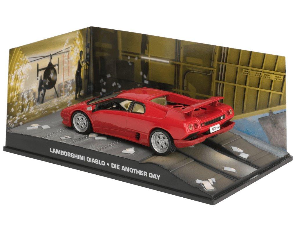 Fabbri 1/43 Scale Diecast - Lamborghini Diablo - Die Another Day B01NB0VLZ8