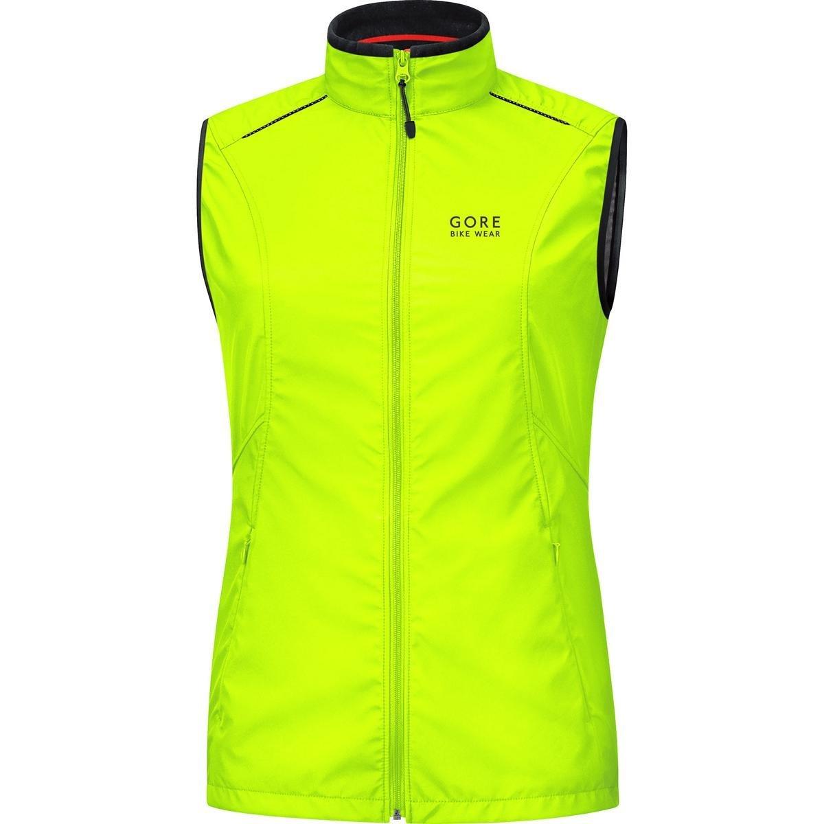 GORE BIKE WEAR Women's Cycling Vest, Super-Light, GORE WINDSTOPPER, LADY WS AS Vest, Size XXL, Jazzy Pink, VWELEL VWELEL080004
