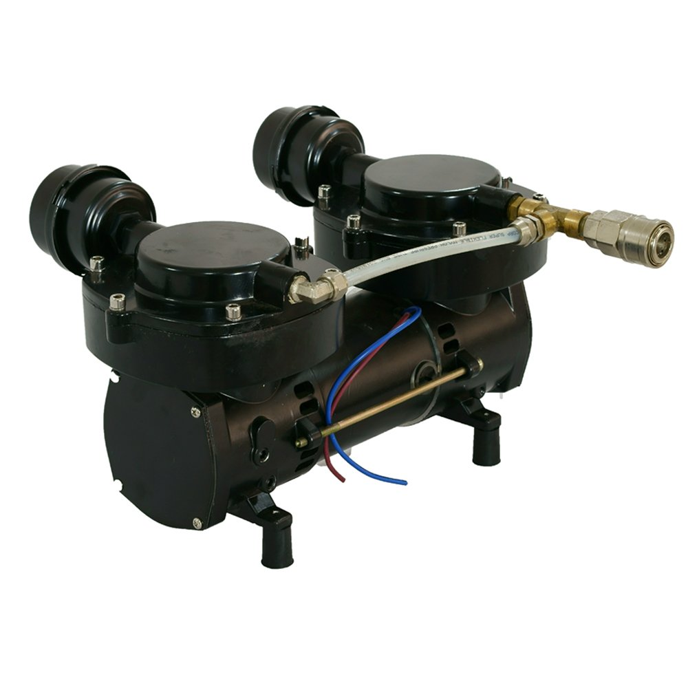 Davv 12V 160W Oil-less Diaphragm Pump, Hookah Dive System Compressor, Third Lung Serface Air New - LM70 by Davv (Image #4)