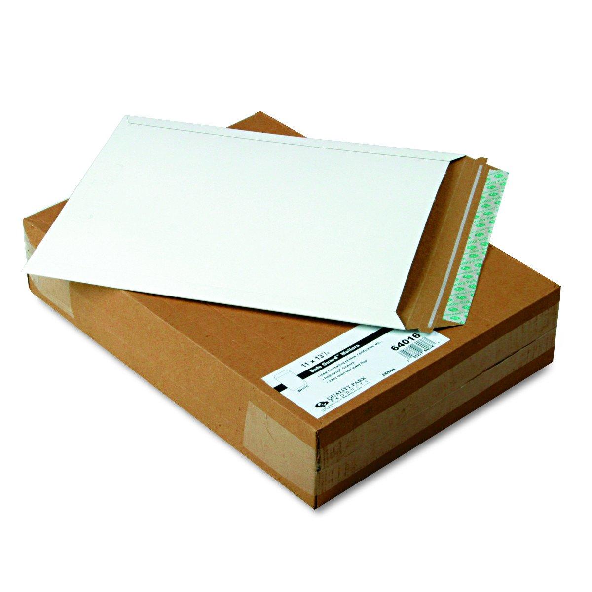 Qualité Park 64016Qualité Park Extra-rigid Fibres Photo/Document enveloppes, 11x 13–1/2, 25/Box