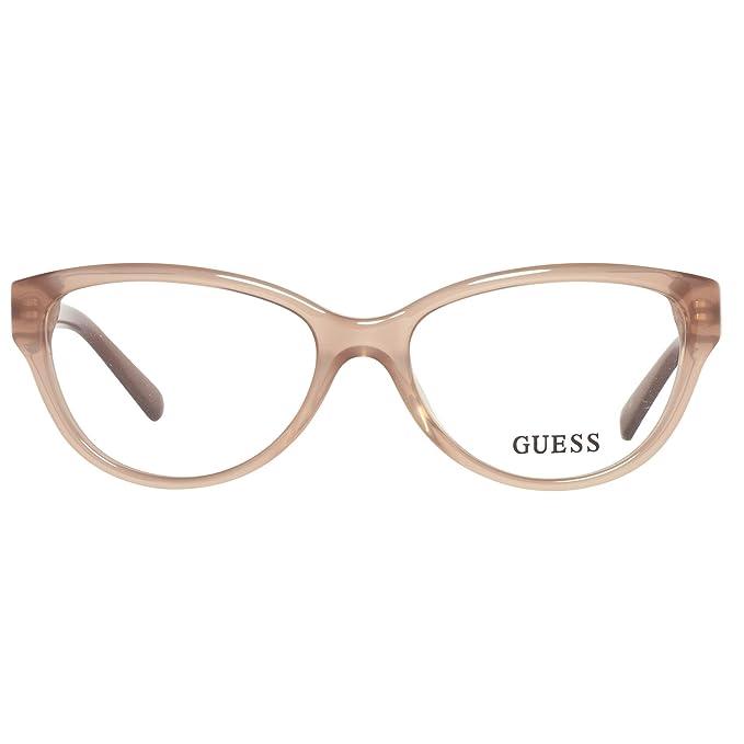 Montures Optiques Guess GU2381 C52 A46 (beige   )  Amazon.fr  Vêtements et  accessoires 865839fb8b3f