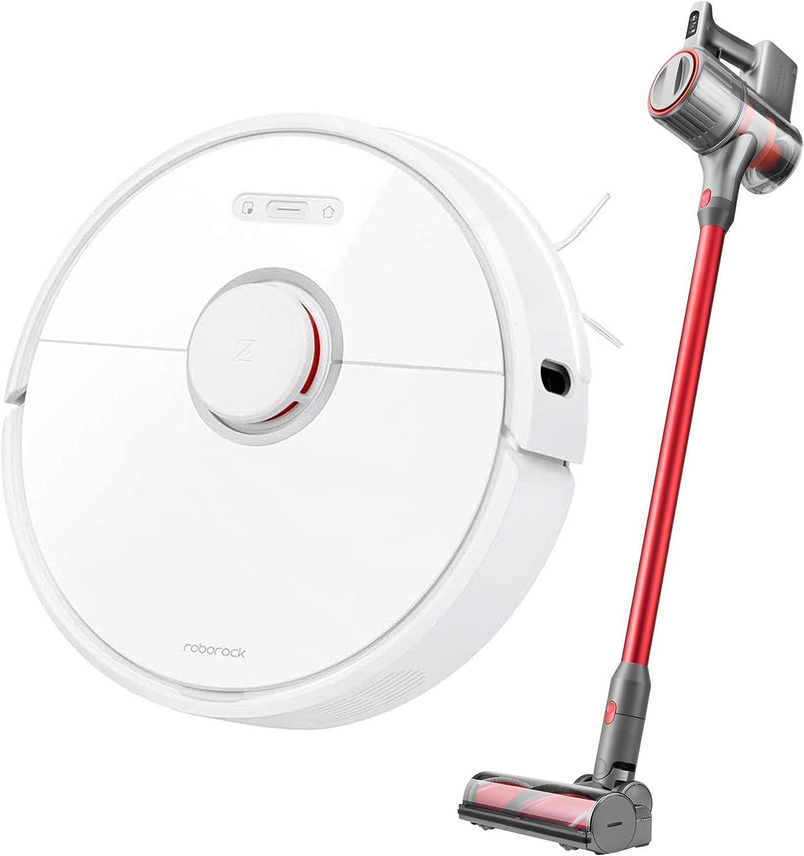 S60 Robot Vacuum Cleaner and H6 Cordless Vacuum