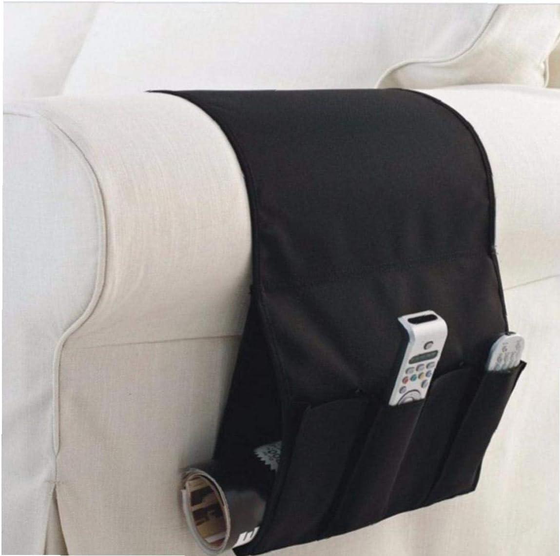 AMOYER Double-aviv/és Organisateur De Stockage /À Distance pour Recliner Couch Poches Durables Sofa Fauteuil Caddy Organisateur Antiderapant