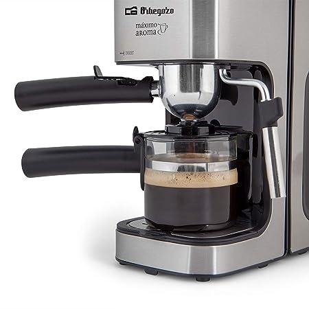 Orbegozo EXP 5000 - Cafetera presión, capacidad de 2 a 4 tazas ...