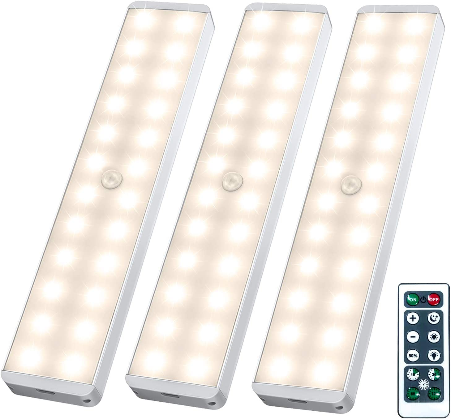 Litbiz [24 LED] Homelife Motion Sensor LED with Remote Control: Best Overall