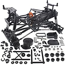 HPI 1/10 Crawler King ROLLER ROLLING CHASSIS with Shocks & Locked Differentials