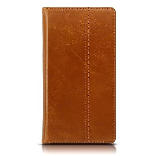 12 opinioni per Cover Lumia 950 XL, Terrapin di Snello Vera Pelle Della Cassa del Raccoglitore