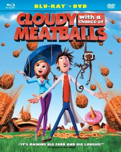 Cloudy with a Chance of Meatballs (Two-Disc Blu-ray/DVD Combo) [Blu-ray] by Sony by Christopher Miller Phil Lord
