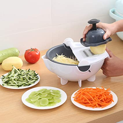 Use Egg Slicer, Spiral Slicer, And Grinder For Easier Cooking