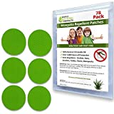 Simple Natural Products Mosquito Repellent Patch (78 Pack) Insect Repellent for Kids and Adults - Better Than Lotion Spray or Wipes - Travel Mosquito Repellent Patches - Natural and Deet Free