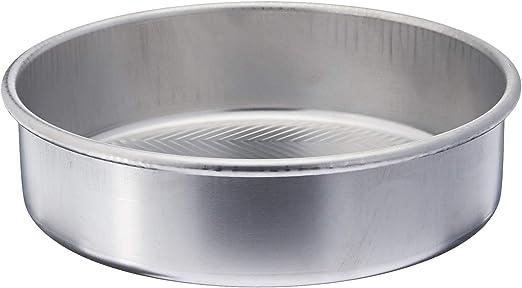 """Nordic Ware 46970 9/"""" Round Prism Cake Pan 9 Aluminum"""