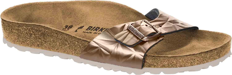 Birkenstock Sandalias de Vestir de Piel Para Mujer 39 EU|Gold (Spectral Platin)