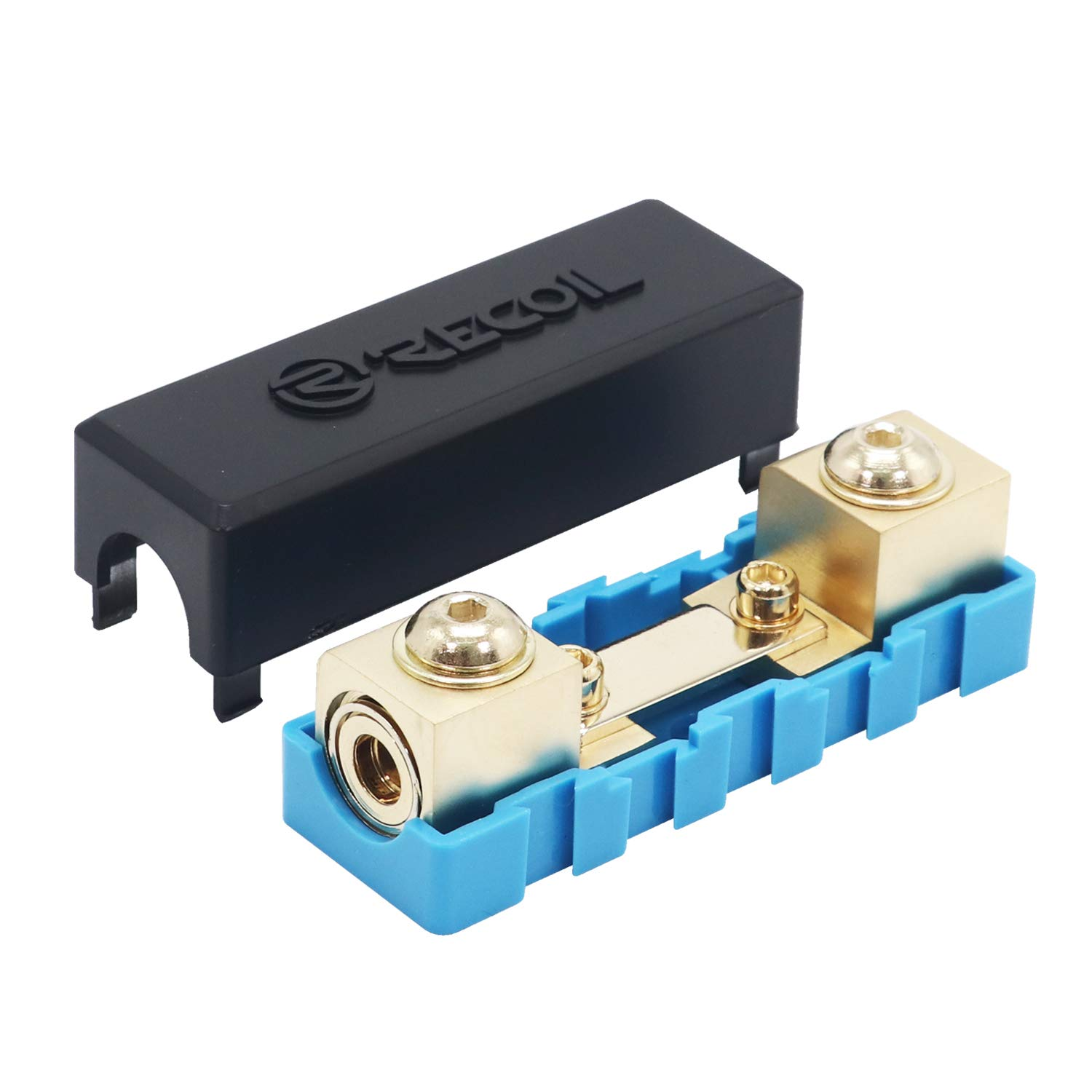 Amazon.com: Recoil 0/2/4 Gauge Modular Inline ANL Fuse Holder & Mini-ANL  Fuseholder: Industrial & ScientificAmazon.com