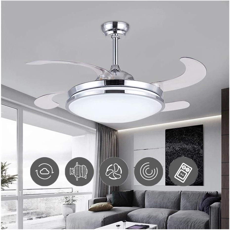 Ventilador de techo Lámpara de techo on 3 Luces Cambiantes Del ...