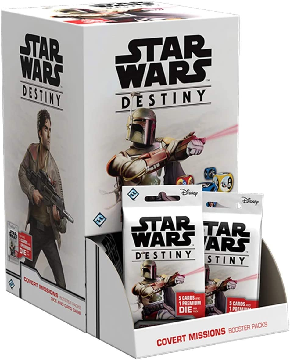 Star Wars Destiny: Covert Missions Booster Pack Display (36)
