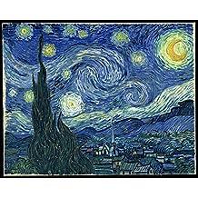 Van Gogh Starry Night Painting ~ Edible Cake Topper!!!