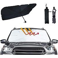 Auto Voorruit Zonnescherm Paraplu 145*130*79 cm Opvouwbare Auto Paraplu Zonnescherm Cover UV Blok Auto Voorruit Warmte…