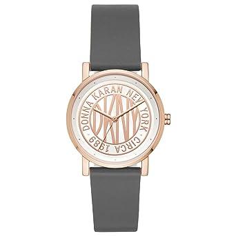 DKNY Reloj Analógico para Mujer de Cuarzo con Correa en Cuero NY2764: Amazon.es: Relojes