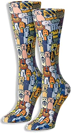 Unicorns 8-15 mmHg Graduated Compression Sock