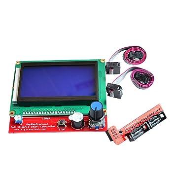 BEETEST Pantalla LCD de la impresora 3D Smart Control Panel de ...