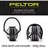 3M Peltor USA Range Guard Casque anti-bruit électronique actif