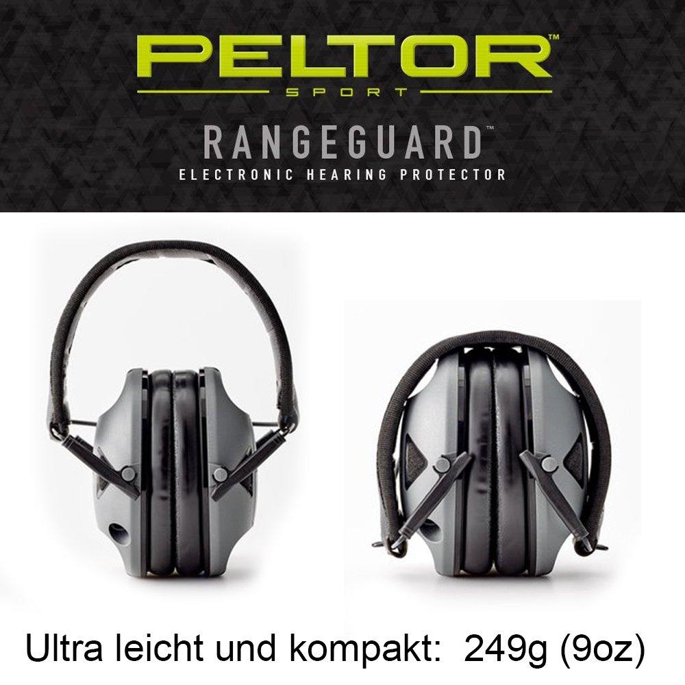 Original Peltor USA electrónico activo protección auditiva auriculares gama Guardia 3M PELTOR USA RG-OTH-4