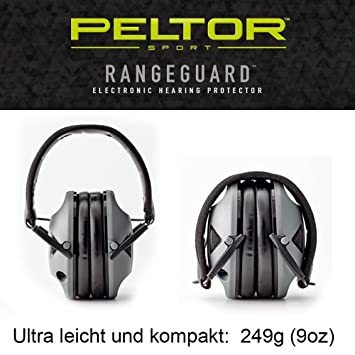 Original Peltor USA electrónico activo protección auditiva auriculares gama Guardia