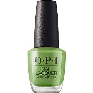 OPI Nail Lacquer, Green Nail Polish, 0.5 fl oz