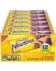 Newtons Soft & Fruit Chewy Fig Cookies, 12 Snack Packs (2 Cookies Per Pack)