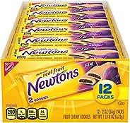 Newtons Soft & Fruit Chewy Fig Cookies, 12 Snack Packs (2 Cookies Per P